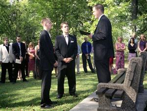 Jeff and Eric's wedding, 09/18/04